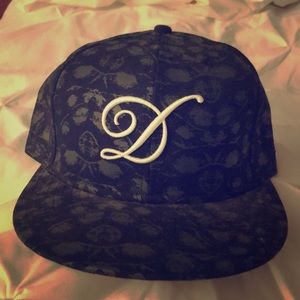 DQM Accessories - DQM 5 panel printed hat 7 1 2 6f0df9dcf21